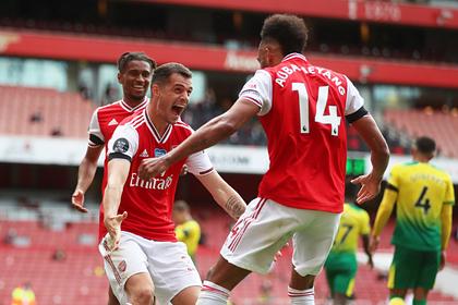 «Арсенал» разгромил худшую команду АПЛ и вышел на седьмое место