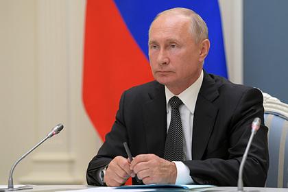 Путин поблагодарит россиян за участие в голосовании по Конституции