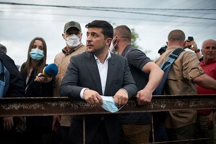 Украина оказалась недовольна Зеленским