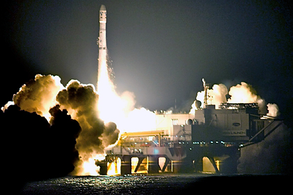 Раскрыта себестоимость ракеты российского «Морского старта»
