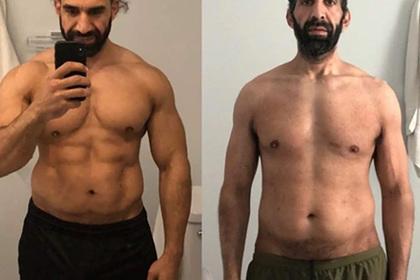 Спортсмен похудел на 28 килограммов и лишился мускулатуры из-за коронавируса