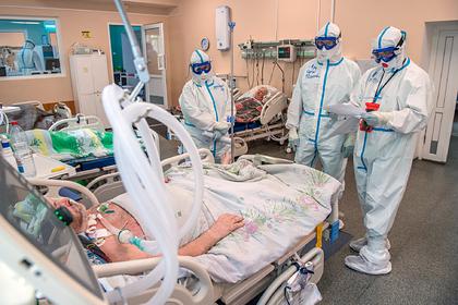 Описан день в «красной зоне» российской больницы