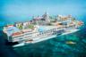 Шикарная яхта Streets of Monaco воистину напоминает целое государство — она входит в тройку концептов яхт-островов британской компании Yacht Island Design, ни один из которых, к слову, так и не был реализован. <br></br> Ходили слухи, что какой-то богач, имя которого держалось в строжайшем секрете, задумался о том, чтобы потратить миллиард долларов на такую роскошь, но, по всей видимости, так и не решился.