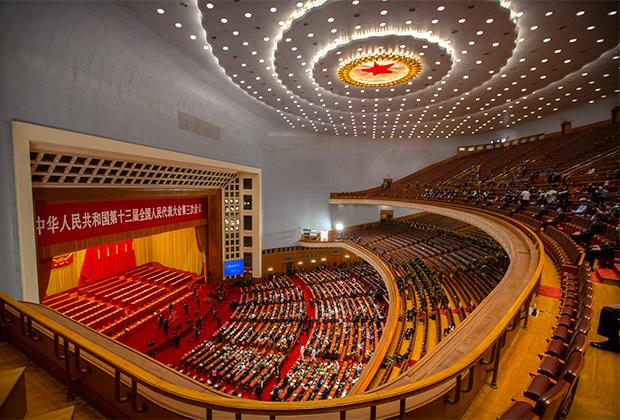 Закрытие сессии Всекитайского собрания народных представителей (ВСНП)