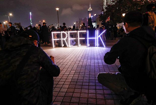 Протест против заморозки полицией денег митингующих