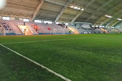 В российском городе обновят футбольное поле старейшего спорткомплекса
