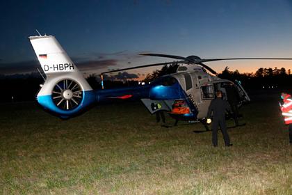 Американские солдаты попали в больницу после прыжков с парашютом в Германии