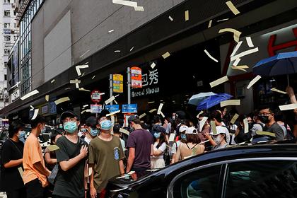 Сенат США принял антикитайские санкции из-за Гонконга
