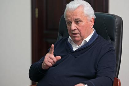 Первый президент Украины понадеялся на помощь России в восстановлении Донбасса