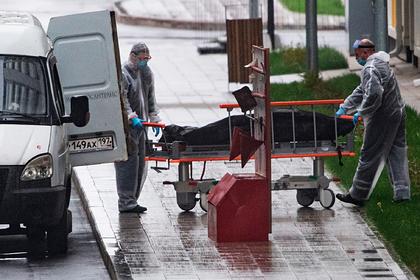 Число умерших россиян с коронавирусом превысило 9,8 тысячи