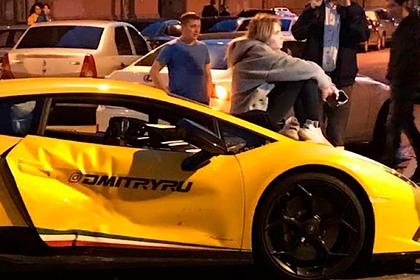 Lamborghini известного блогера попала в аварию в Санкт-Петербурге