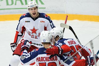 Хоккейный клуб ЦСКА стал чемпионом России по итогам сезона 2019-2020