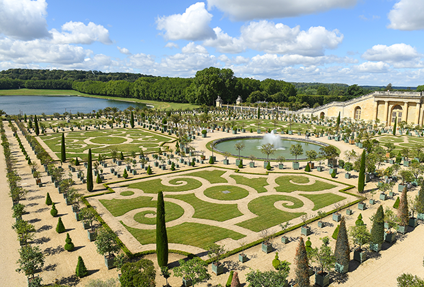Регулярный парк Версаля