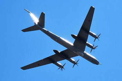 Норвежские истребители сблизились с российскими Ту-142 над Атлантикой
