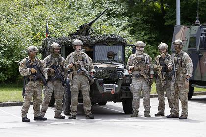 В Германии начались обыски по делу о правом экстремизме в элитных войсках