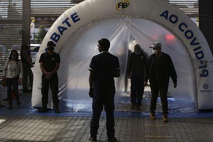 Количество случаев заболевания коронавирусом в Бразилии превысило 1,5 миллиона