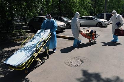 В России зафиксировали 6632 новых случая заражения коронавирусом