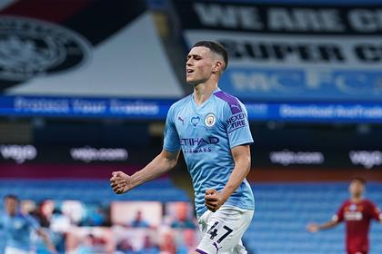 Автором лучшего гола тура АПЛ третий раз подряд признан игрок «Манчестер Сити»