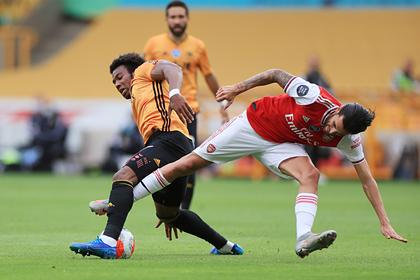 «Арсенал» выиграл третий матч подряд в АПЛ