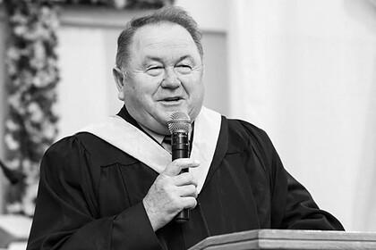 Скончался глава Всеукраинского совета церквей