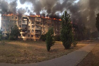 Украинец поссорился с женой, поджег квартиру и спровоцировал крупный пожар
