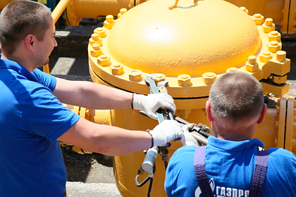 «Газпром» приостановит поставку газа через Польшу