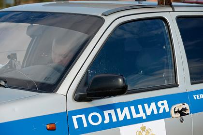 Российский наркопотребитель напал на полицейских с топором