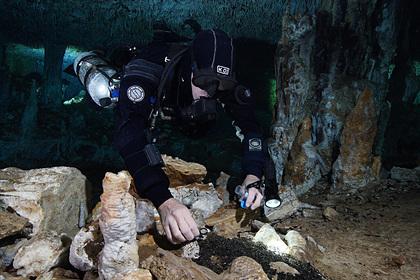 В подводных пещерах впервые нашли технологии древней цивилизации