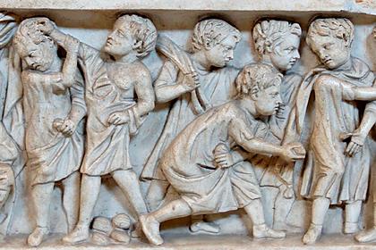В сети обнаружили доказательство «тупости» детей в Древнем Риме