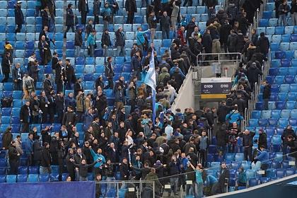 В Санкт-Петербурге задержали празднующих чемпионство «Зенита» фанатов