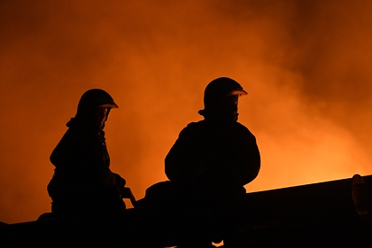В Петербурге сгорели восемь автомобилей