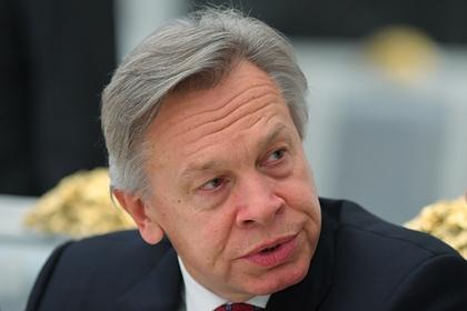 Пушков оценил слова ВМС Украины о подготовке к войне с Россией