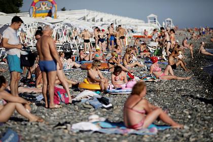 Предсказана дата наступления окончательной нехватки мест на курортах Кубани