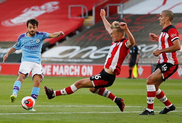 Матч «Саутгемптон» — «Манчестер Сити»