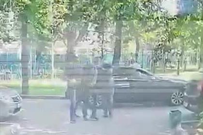 Задержание советника главы «Роскосмоса» сотрудниками ФСБ попало на видео