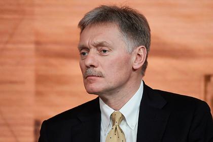 В Кремле прокомментировали задержание советника главы «Роскосмоса»
