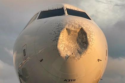 Пассажирский самолет совершил аварийную посадку из-за загадочного повреждения