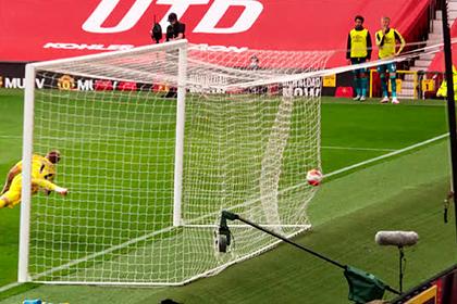 Гол в ворота «Манчестер Сити» после ошибки украинца признан лучшим в туре АПЛ