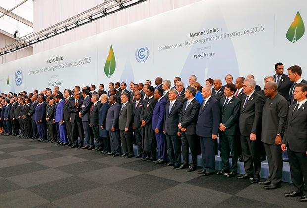 Парижская климатическая конференция, 2015 год