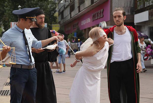 Акция «Освобождение Фемиды», Алматы. 4 сентября 2016 года