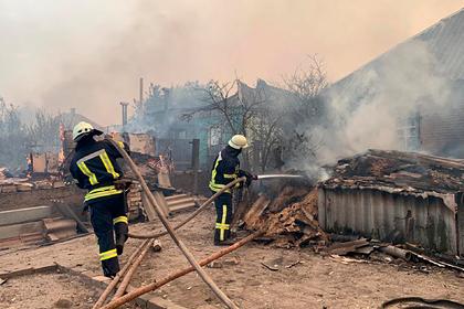 На Украине три человека погибли из-за лесных пожаров