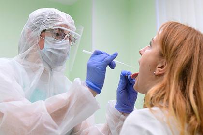 В России выявили 6562 новых случая заражения коронавирусом