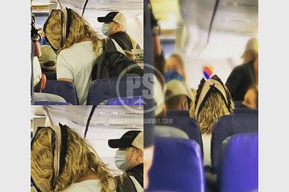 Пассажирка самолета использовала трусы не по назначению и возмутила попутчиков