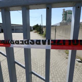 Место, где был убит чеченский блогер Мамихан (Анзор) Умаров
