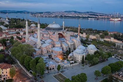 В Турции рассказали о своем праве переделать собор Святой Софии в мечеть