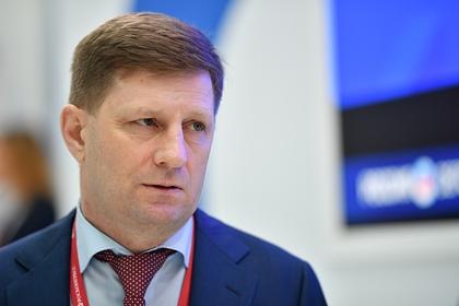 Губернатора Хабаровского края задержали по подозрению в организации убийств