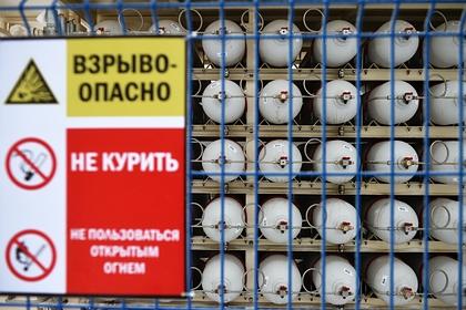 Россиянин поссорился с женой и взорвал баллон с газом