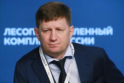 Задержанного губернатора Хабаровского края отправили в Москву