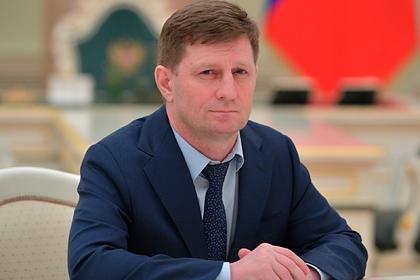Задержание Сергея Фургала назвали работой по декриминализации Дальнего Востока