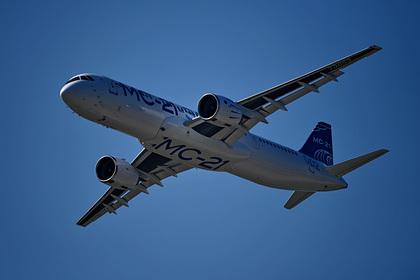 Российский «самолет XXI века» полетает в три раза дольше